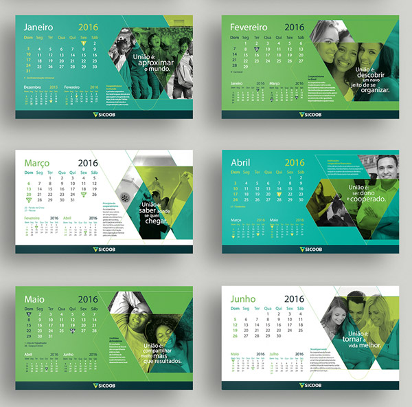 Creative Calendar Design Template 2015 : Free new year calendar designs templates page