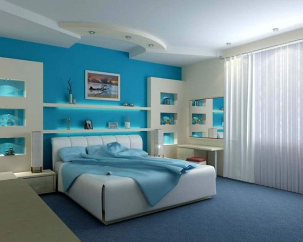 blue bedroom designs ideas - Bedroom Designs Blue