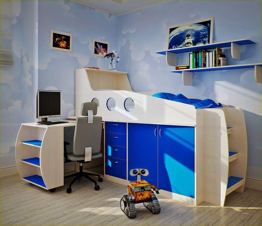 Blue Bedroom Designs Ideas