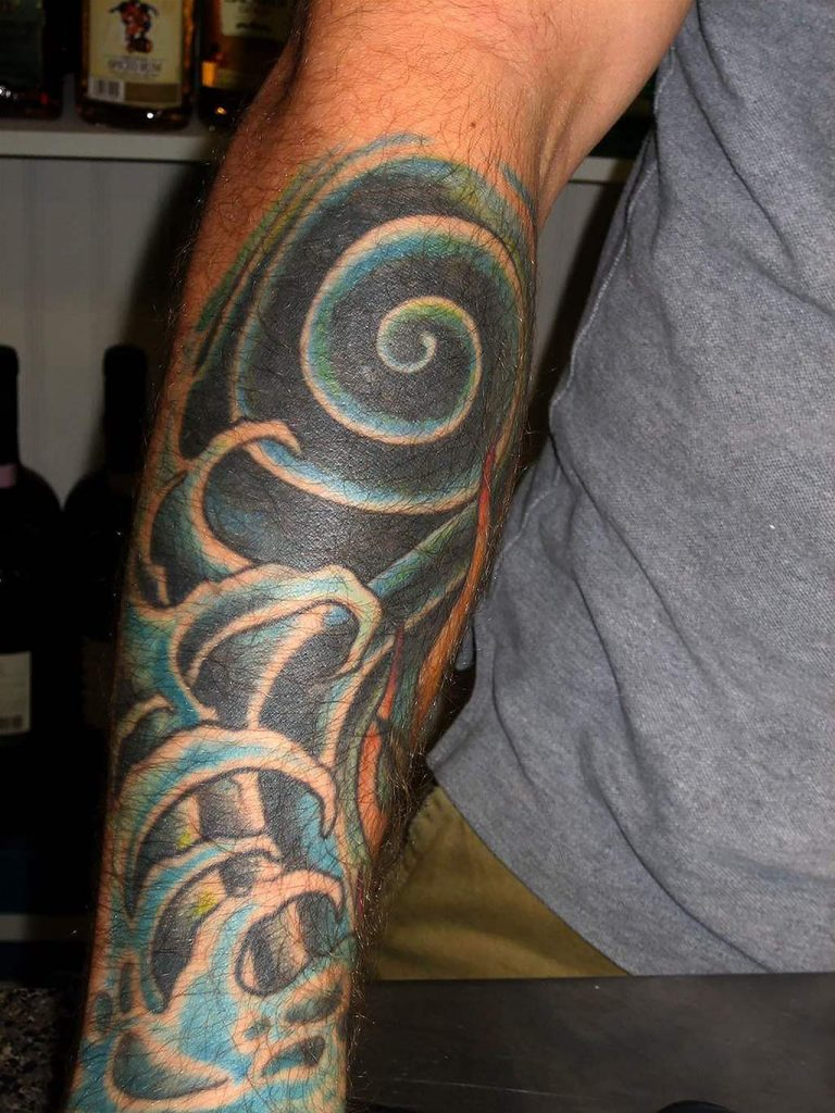 50 cool tattoos for guys and unique designs for men for Cool forearm tattoos