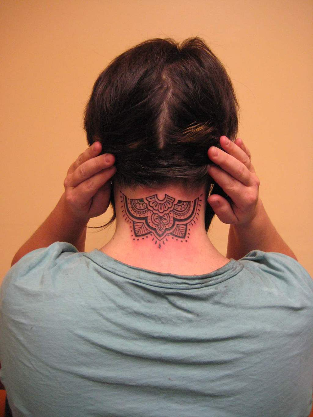 50 cool tattoos for guys and unique designs for men for Tattoos for neck