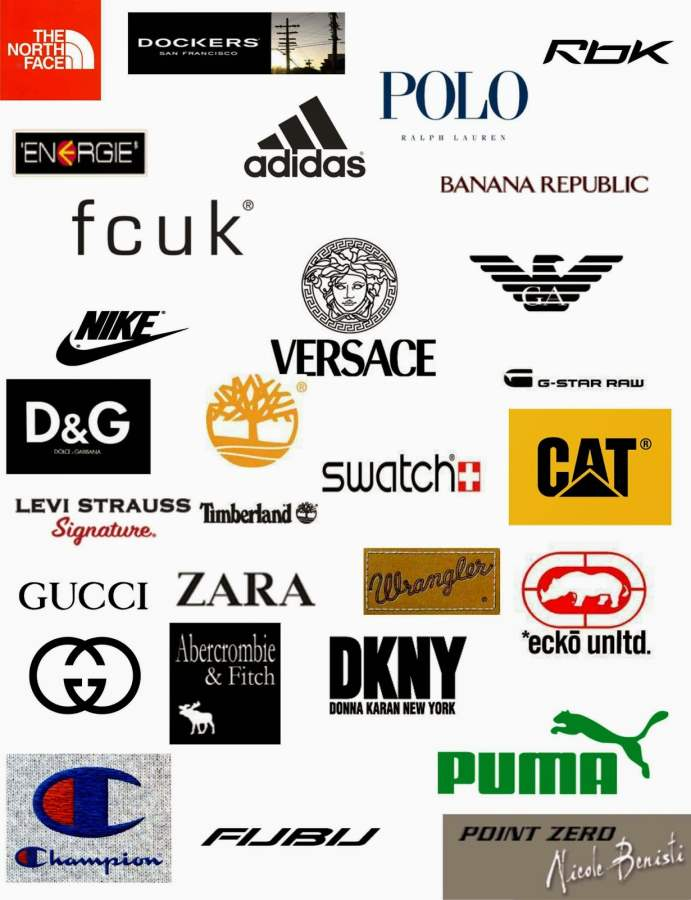 characteristics of best clothing brand logos