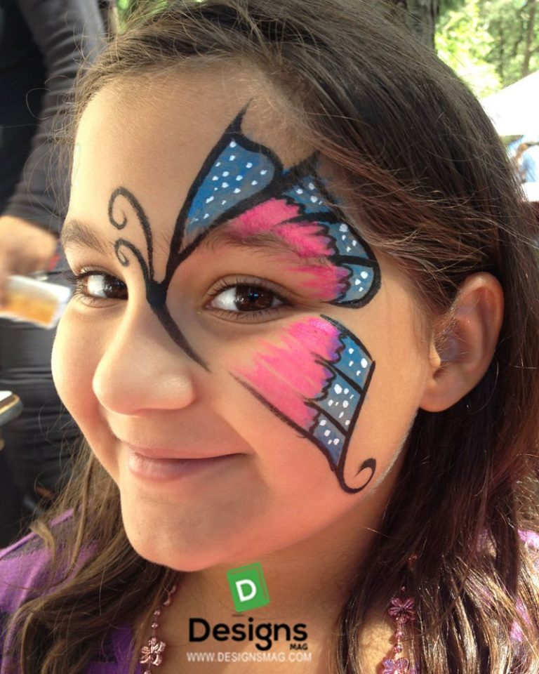 easy face painting designs - 768×960