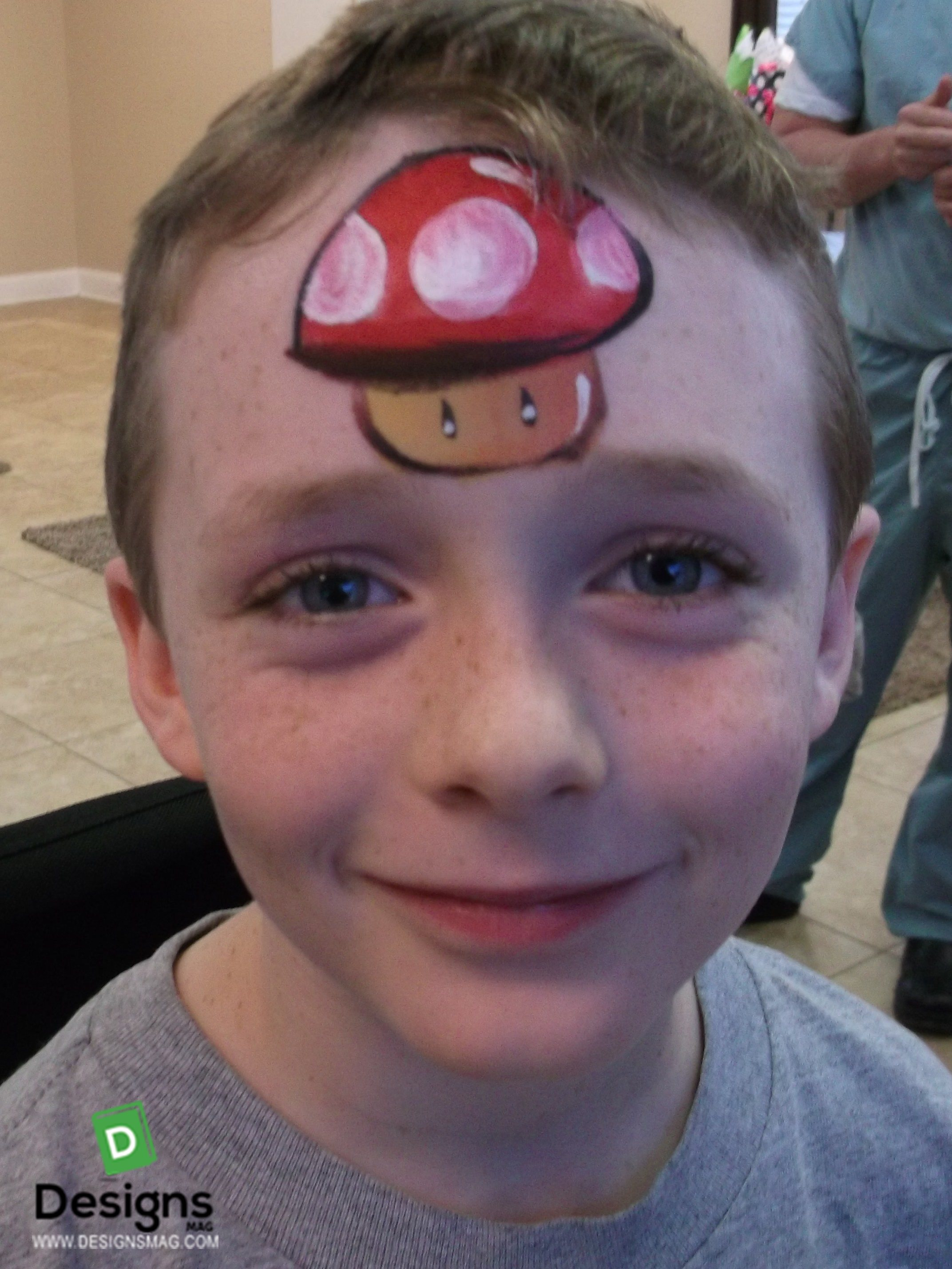 Simple Face Painting For Boys