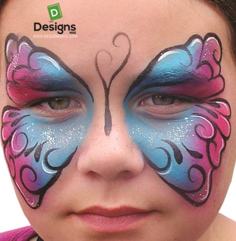easy face painting designs - 954×978