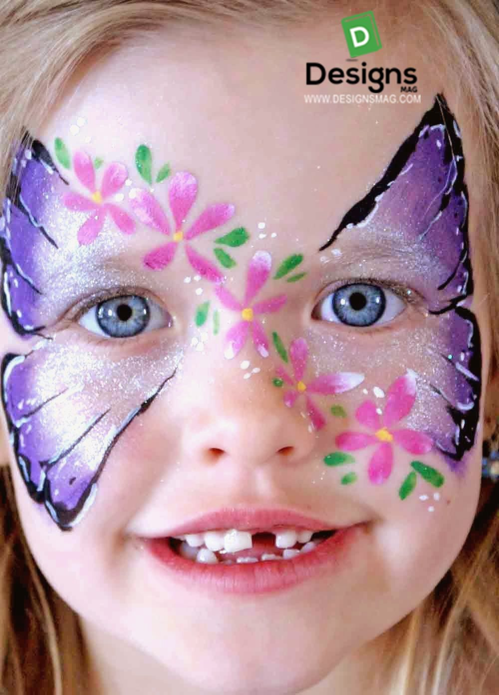 75 Easy Face Painting Ideas  Face Painting Makeup  Page 5 - Simple Makeup Designs