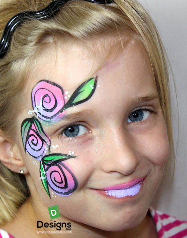 face painting designs clown
