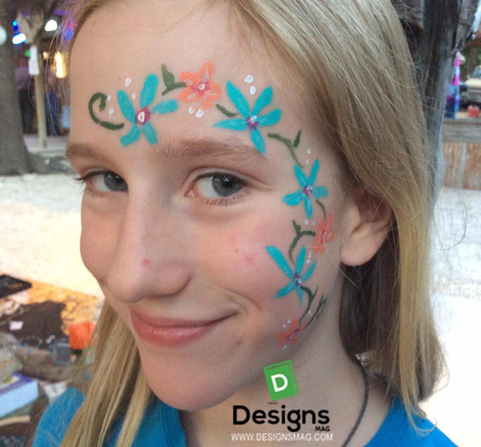 Cool Easy Face Paint Designs