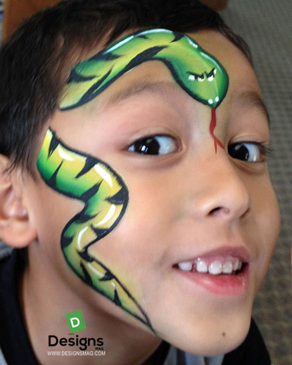 Cool Face Paint Ideas For Boys