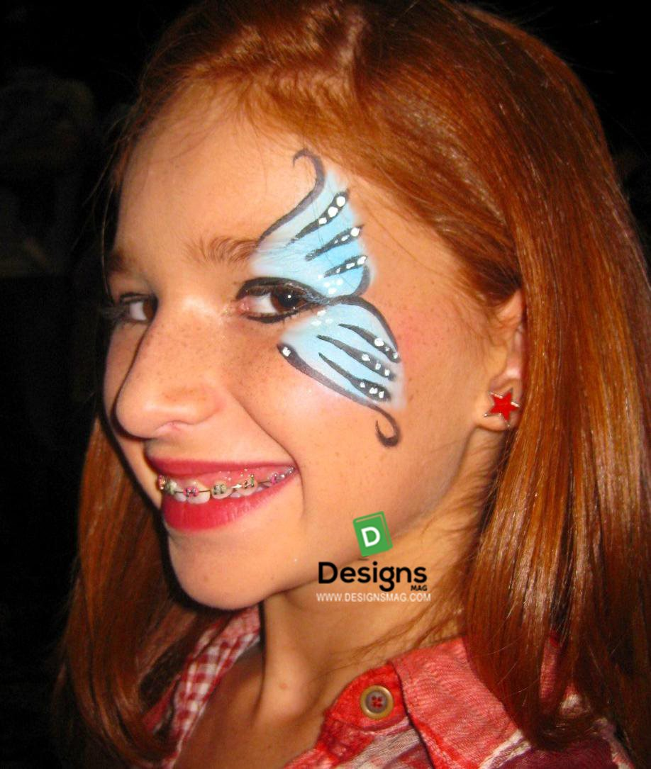 75 Easy Face Painting Ideas Makeup Page 11