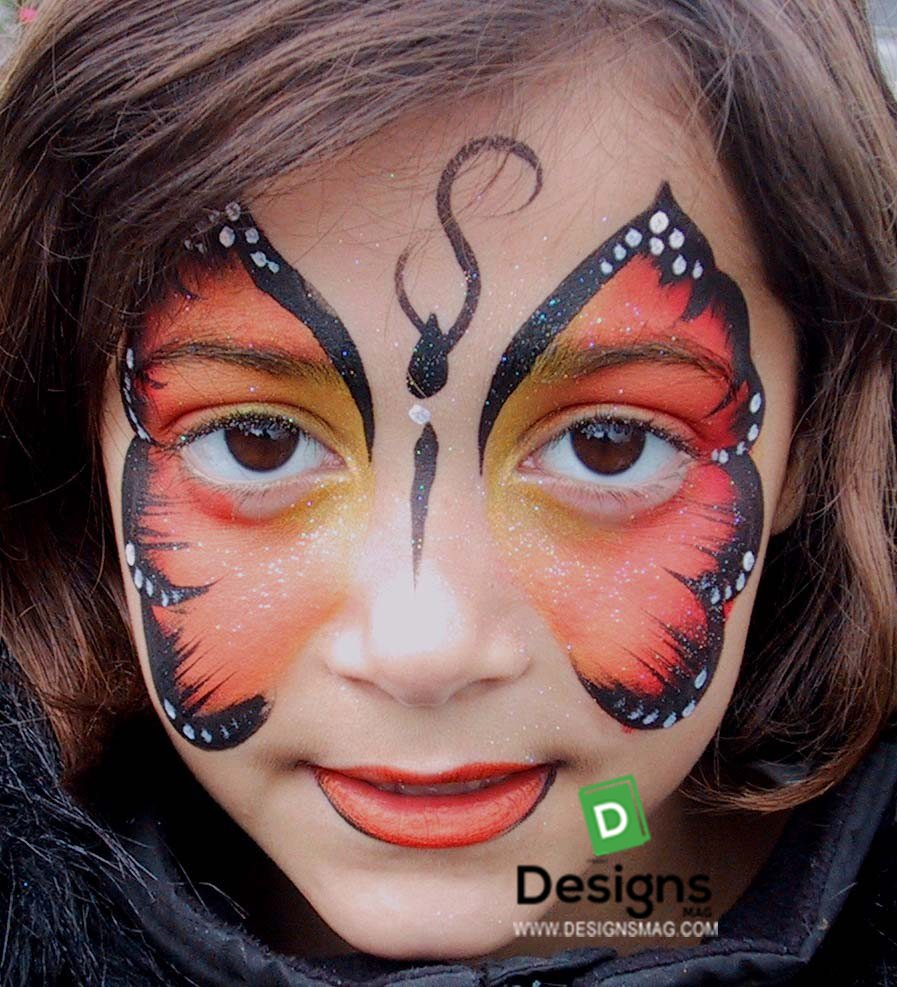 75 easy face painting ideas - face painting makeup - page 11