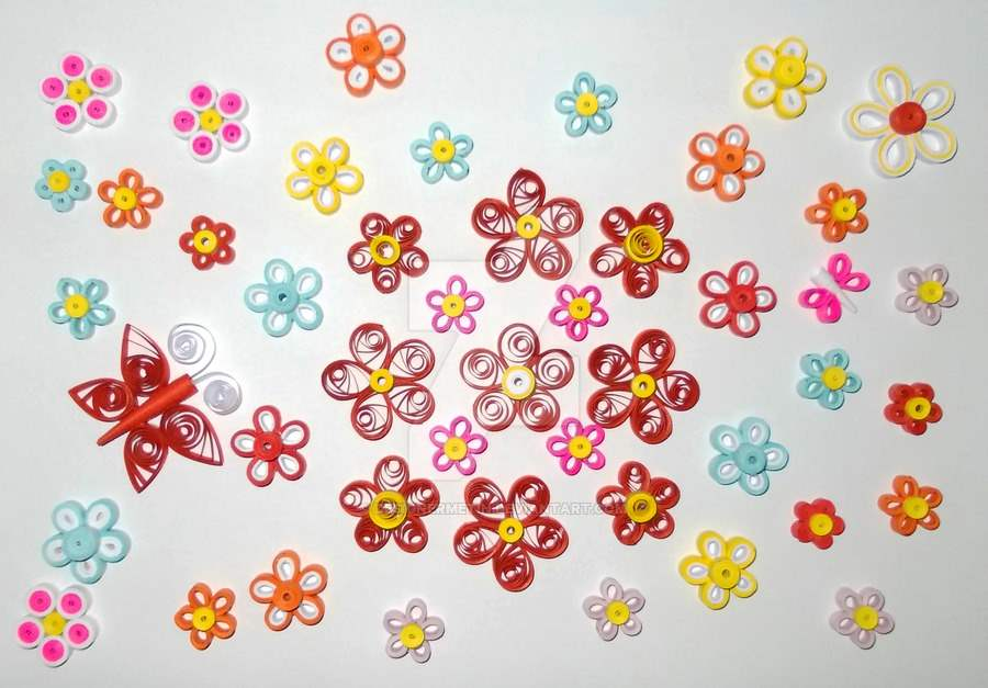 Do all sorts of fun with paper quilling and quilling art - Paper quilling art wallpapers ...