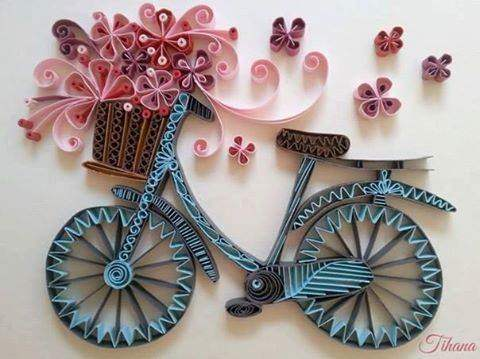 paper quilling designs Quilled paper jewelry using specialty quilling papers like metallic and pearl finish quilling strips is growing in popularity.