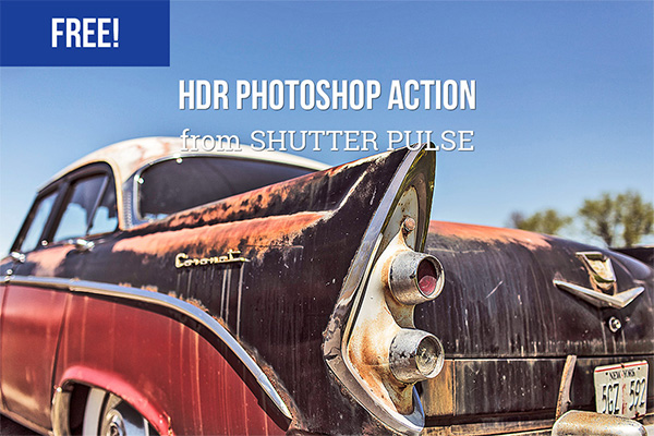HDR Photoshop Actions free