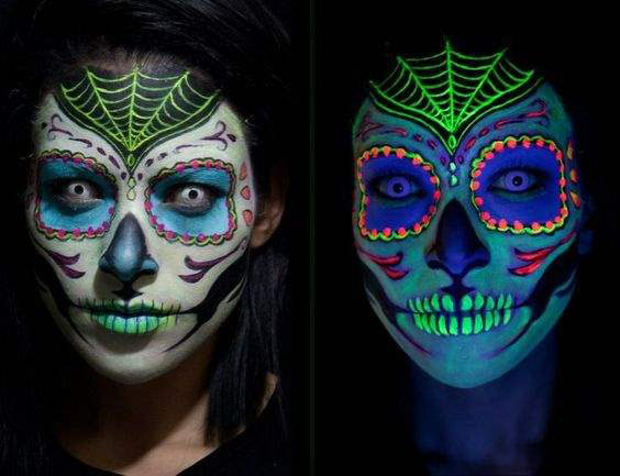 Halloween 2017 EYE Makeup Ideas Halloween Face Mask Ideas - Makeup Mask Ideas