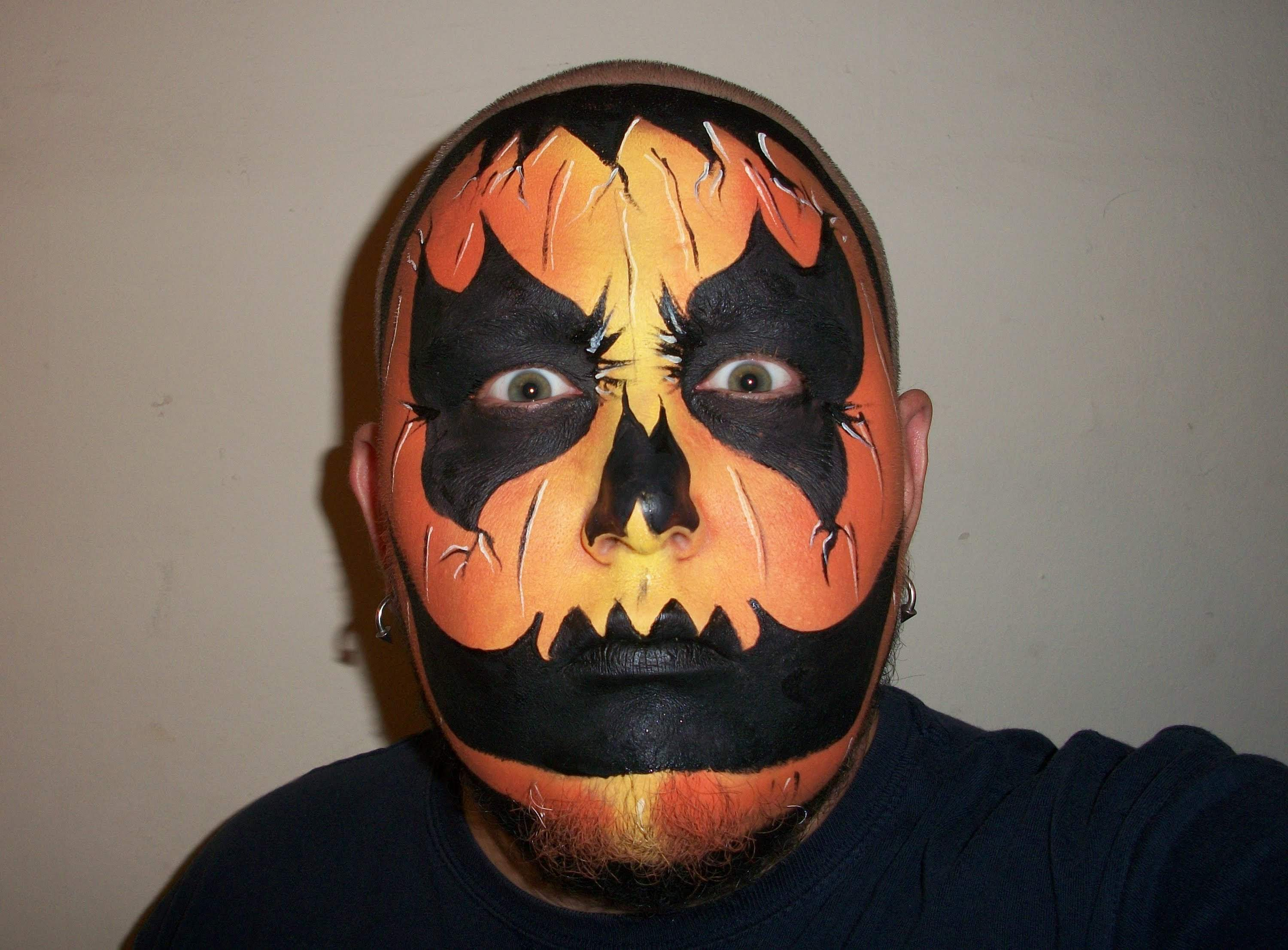 Small Halloween Face Paint Designs