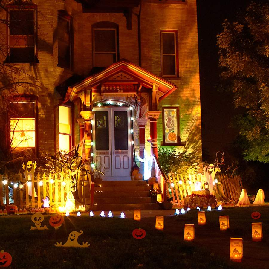 Outdoor halloween party decorations - Halloween Party Decoration Ideas 2017