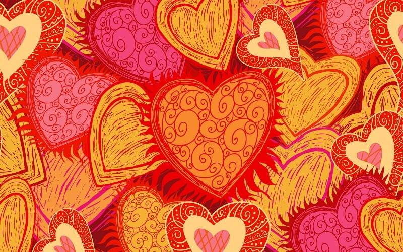 Heart Valentines Day Wallpapers 2017