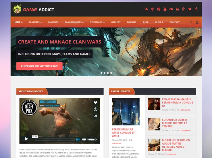 20+ Best Gaming WordPress Themes for Perfect Game Site