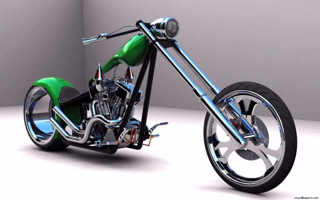 American Monster Heavy Bike Wallpapers