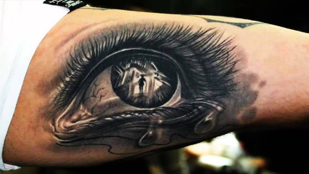 3d eye tattoos