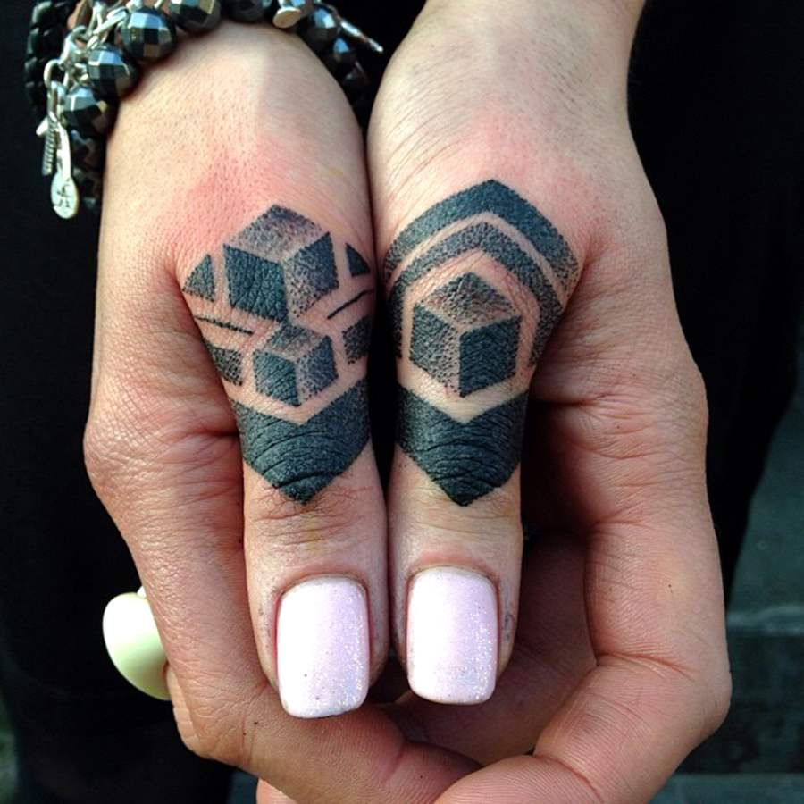 3d Tattoos on Thumbs