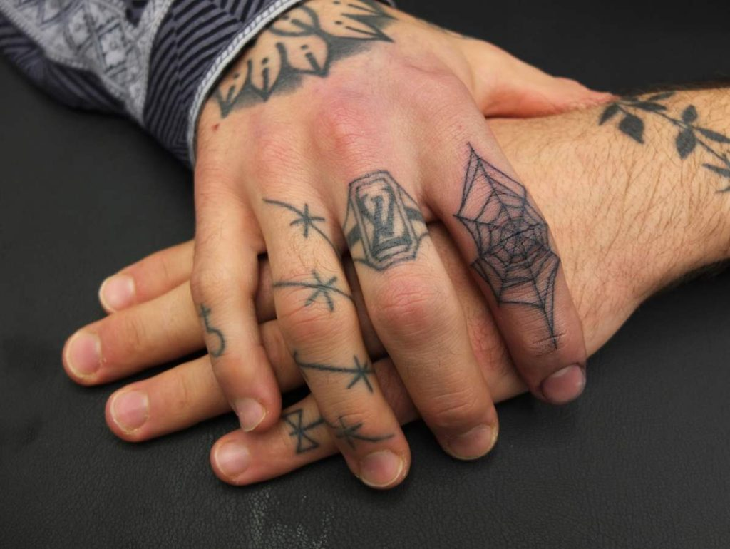 Memorial Tattoos on Hand