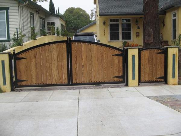 Wooden Front Gate Design Designsmag