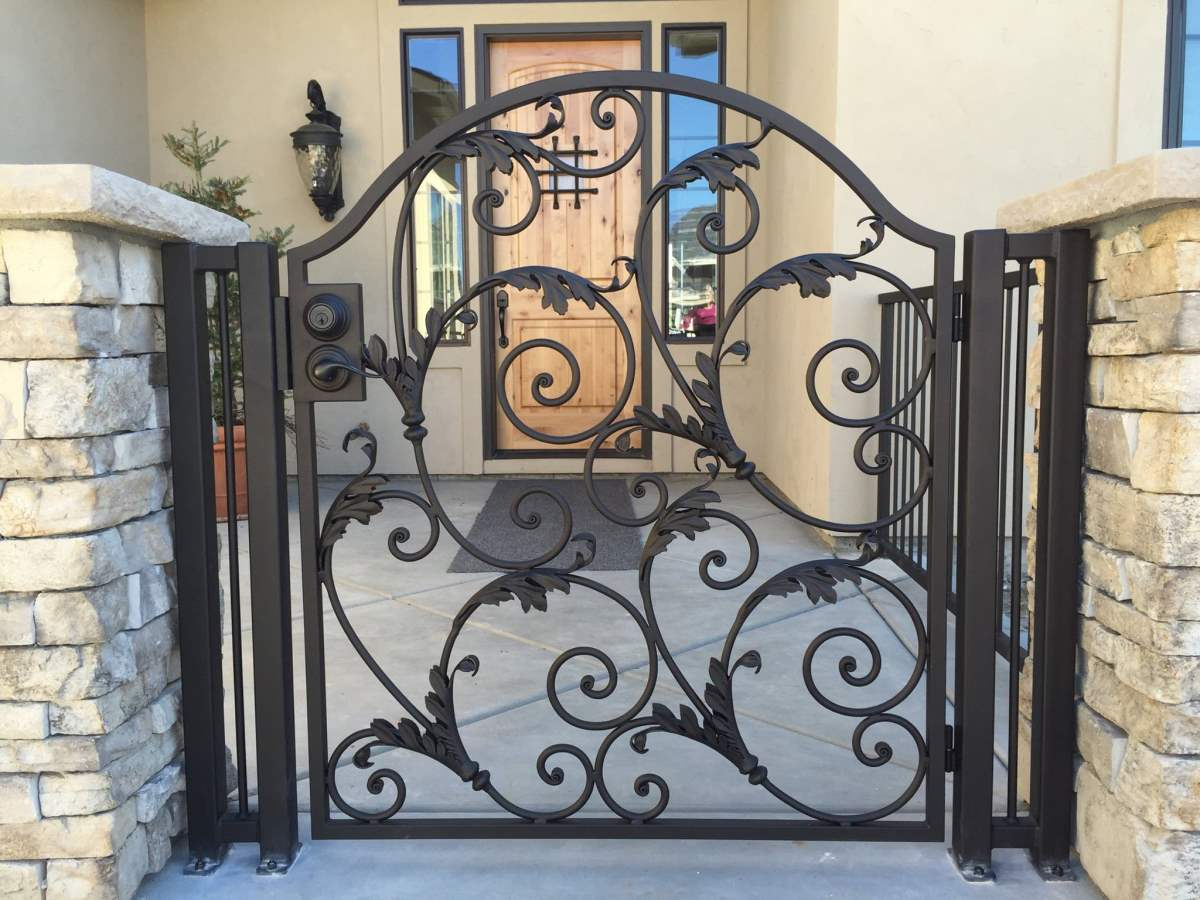 35 stunning modern main gate design for home decoration for Home get design