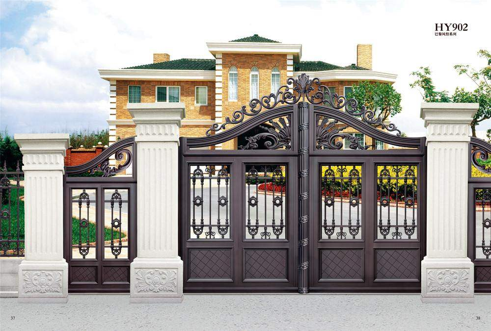 35 stunning modern main gate design for home decoration page 5 - Entrance gate designs for home ...