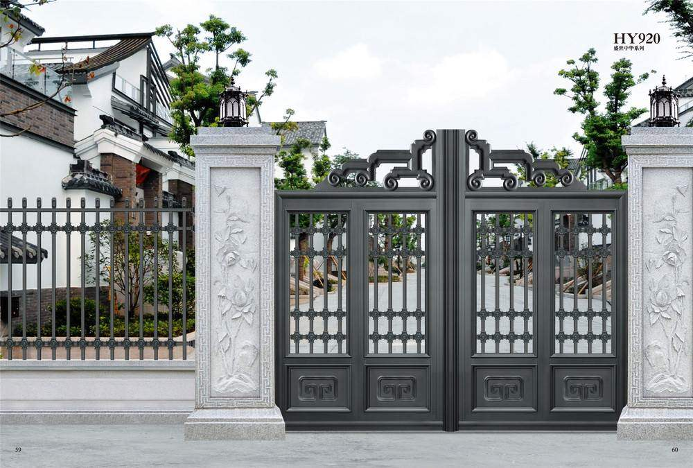 35 stunning modern main gate design for home decoration for Maine home and design