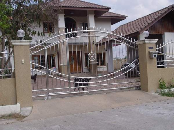 Stainless Steel Rod Gate.