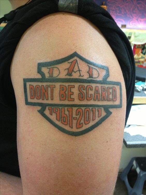 Dont be scared Tattoo