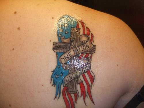 One Nation USA Tattoos