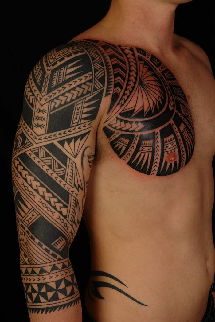30 unique tribal tattoos designs ideas polynesian tattoos design page 2. Black Bedroom Furniture Sets. Home Design Ideas