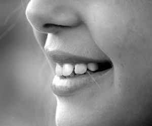 Black And White Photography Lips