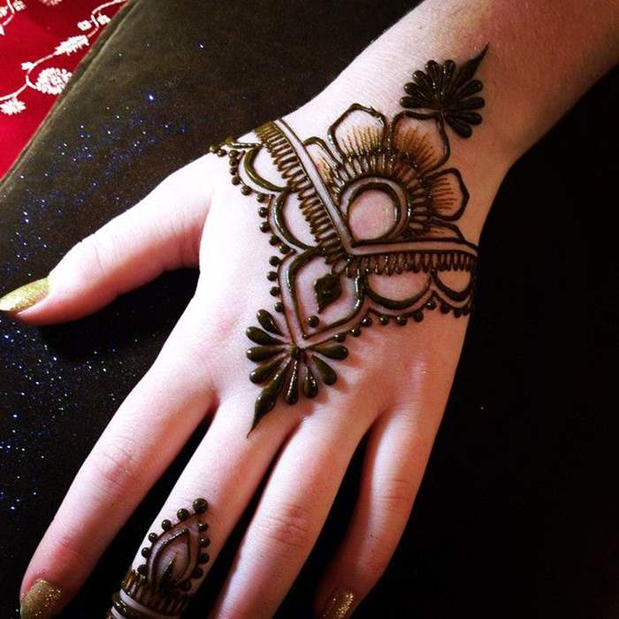Easy Henna Designs For Kids: [Latest Updated] 60+ Simple And Easy Mehndi Designs For