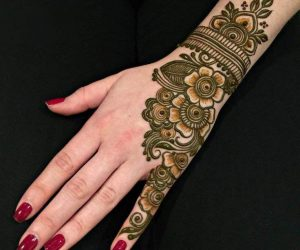 Mehndi Easy Design : Latest updated simple and easy mehndi designs for eid