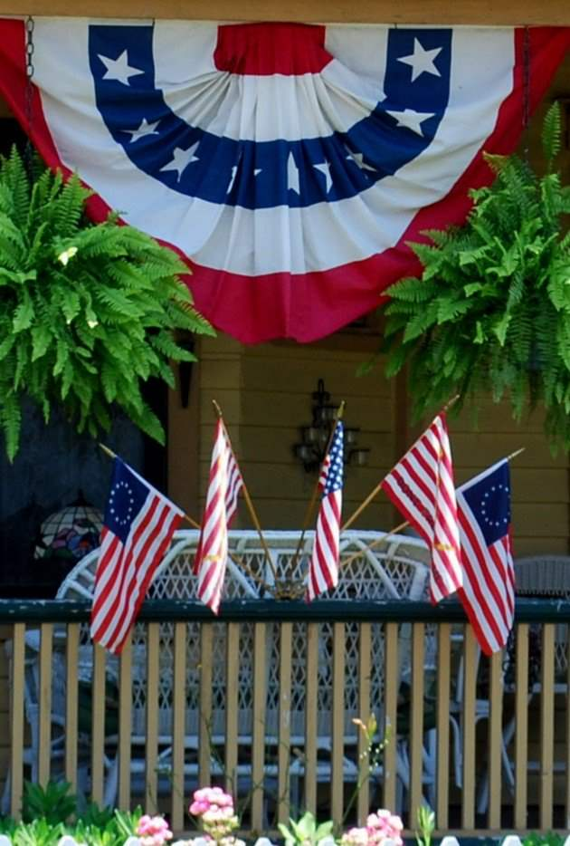 Super easy and amazing 4th of july decorations ideas for Decoration 4 july