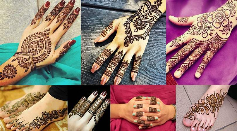 easy mehndi designs eid 2017
